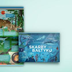 Album edukacyjny Skarby Bałtyku